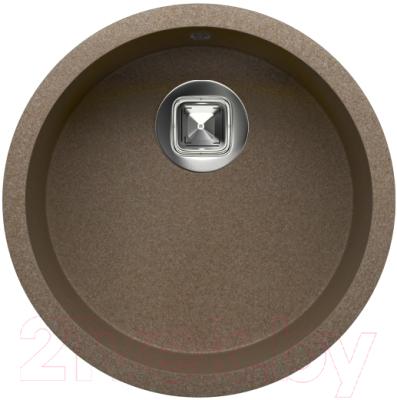 Мойка кухонная Tolero R-104 (темно-бежевый)