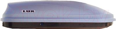 Автобокс Lux Flagman 370L 844109 (серый матовый)
