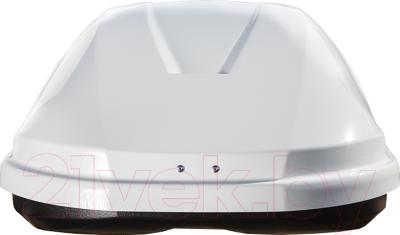 Автобокс Lux Flagman 370L 844123 (белый глянец)