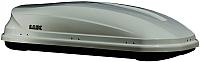 Автобокс Lux Viking 460L 844161 (серый металлик) -
