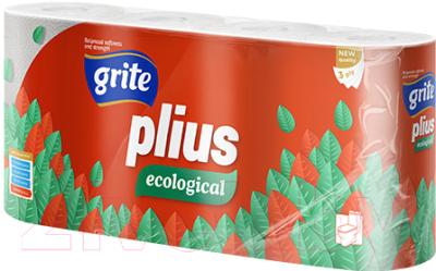 Туалетная бумага Grite Plius Ecologica (8рул)