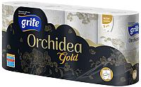 Туалетная бумага Grite New Orhidea Gold (8рул) -