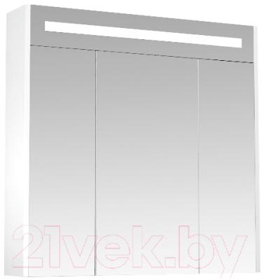 Шкаф с зеркалом для ванной Triton Диана 80 (002.42.0800.122.01.01 U)