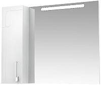 Шкаф с зеркалом для ванной Triton Диана 100 (002.42.1000.102.01.01.L) -