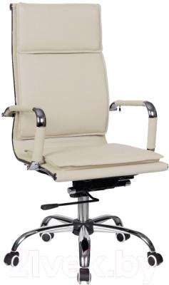Кресло офисное Седия City Chrome Eco-109A (кремовый)