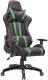 Кресло геймерское Седия Gamer Eco (черный/зеленый) -