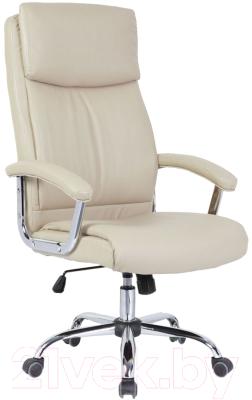 Кресло офисное Седия Levada Chrome Eco (кремовый)