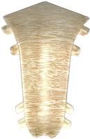Уголок для плинтуса Ideal Комфорт 254 Ясень светлый (внутренний) -