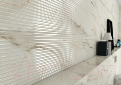 Плитка Roca Calacatta Suite Lines R (300x902)