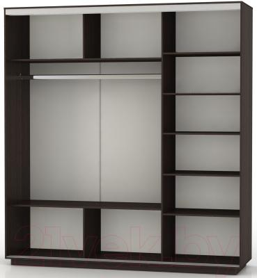 Шкаф Иволанд Трейд K228-3 (венге)