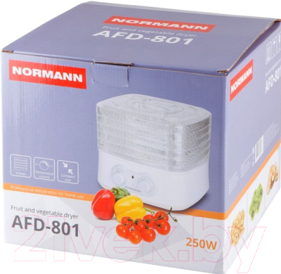 Сушка для овощей и фруктов Normann AFD-801