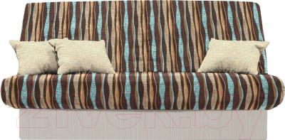 территория сна комфорт Story Page коричневыйсиний диван купить в