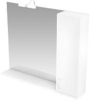 Шкаф с зеркалом для ванной Triton Джуно 100 (015.42.1000.101.03.01.R) -