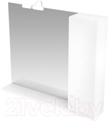 Шкаф с зеркалом для ванной Triton Джуно 100 (015.42.1000.101.03.01.R)