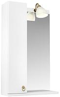 Шкаф с зеркалом для ванной Triton Реймс 55 (014.42.0550.101.03.01.L) -