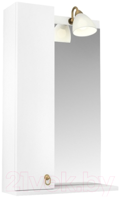 Шкаф с зеркалом для ванной Triton Реймс 55 (014.42.0550.101.03.01.L)