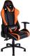 Кресло геймерское ThunderX3 TGC15-BO (оранжевый/черный) -