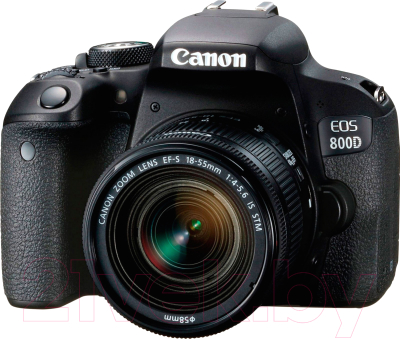 Зеркальный фотоаппарат Canon EOS 800D Kit 18-55mm IS STM (1895C019AA)