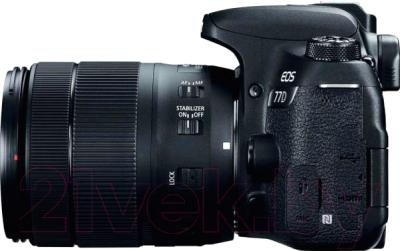 Зеркальный фотоаппарат Canon EOS 77D Kit 18-135mm IS USM (1892C024AA)