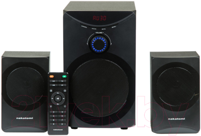 Мультимедиа акустика Nakatomi GS-25 (черный)