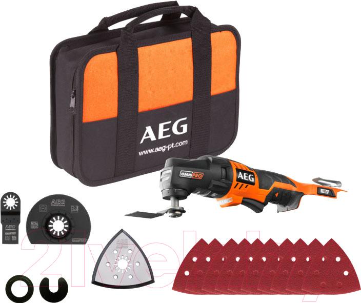 Купить Многофункциональный инструмент AEG Powertools, OMNI 18C 0-KIT1X (4935446706), Китай