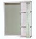 Зеркало для ванной СанитаМебель Прованс 901.650 R (гасиенда) -