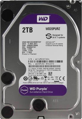 Жесткий диск Western Digital 2Tb Purple (WD20PURZ)