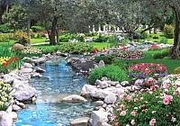 Фотообои листовые Твоя планета Люкс Парк весною (291x204) -