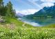 Фотообои Твоя планета Люкс Радужное озеро (291x204) -