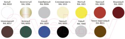 Эмаль Alpina Direkt auf Rost RAL1021 (750мл, желтый)