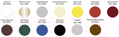 Эмаль Alpina Direkt auf Rost RAL8011 (2.5л, темно-коричневый)