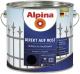 Эмаль Alpina Direkt auf Rost RAL9005 (2.5л, черный) -
