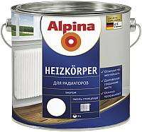 Эмаль Alpina Heizkoerper для радиаторов (750мл, белый) -