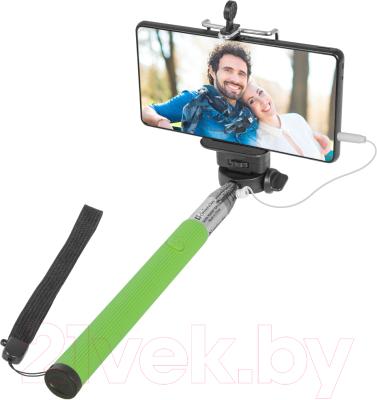 Монопод для селфи Defender Selfie Master SM-02 / 29403 (зеленый)