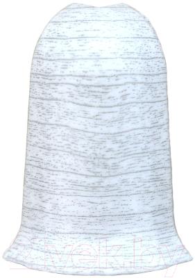 Уголок для плинтуса Ideal Комфорт 253 Ясень серый (наружный)