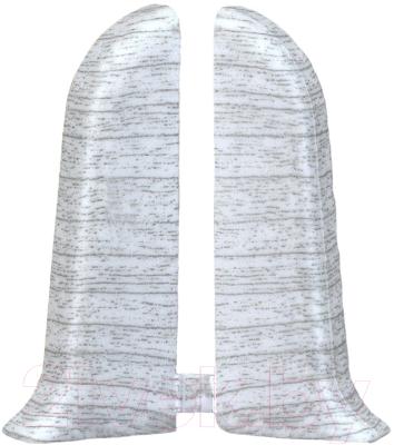 Заглушка для плинтуса Ideal Комфорт 253 Ясень серый (2шт)