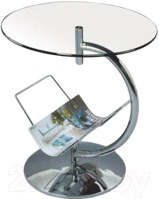 Журнальный столик Halmar Alma 45/50 (бесцветный)