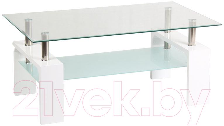Купить Журнальный столик Signal, Lisa Basic ll (белый), Польша