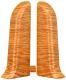 Заглушка для плинтуса Ideal Комфорт 206 Дуб коньячный (2шт) -