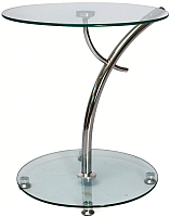 Журнальный столик Signal Muna (металл/стекло) -