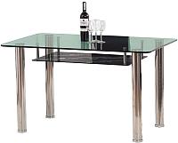 Обеденный стол Halmar Lenart (зелено-черный) -