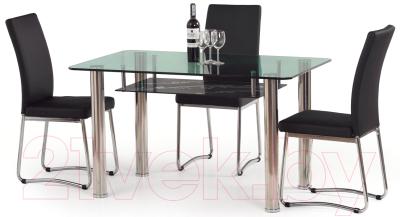 Обеденный стол Halmar Lenart (зелено-черный)