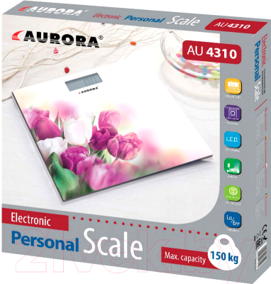 Напольные весы электронные Aurora AU4310