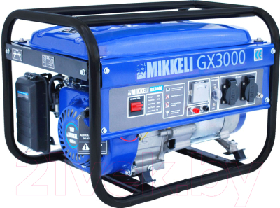 Бензиновый генератор Mikkeli GX3000