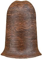 Уголок для плинтуса Ideal Комфорт 292 Орех миланский (наружный) -