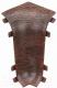 Уголок для плинтуса Ideal Комфорт 351 Каштан (внутренний) -
