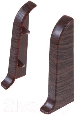 Заглушка для плинтуса Ideal Комфорт 351 Каштан (2шт)