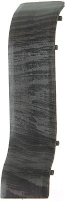 Соединитель для плинтуса Ideal Комфорт 302 Венге черный
