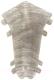 Уголок для плинтуса Ideal Комфорт 210 Дуб пепельный (внутренний) -