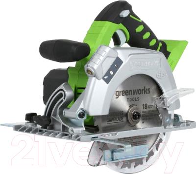Дисковая пила Greenworks G24CS (1500507)